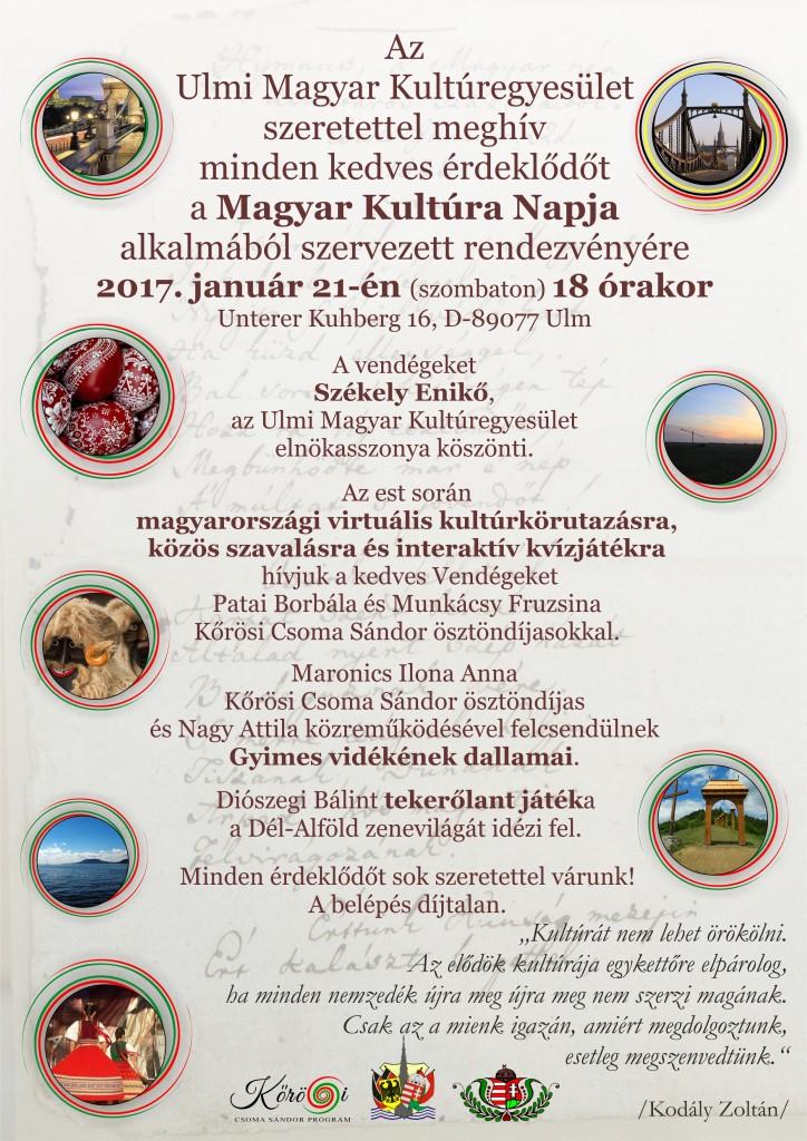 A Magyar Kultura Napja